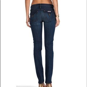 Hudson Jeans Carly Straight in Lux